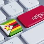 Постер, плакат: Zimbabwe Religion Concept