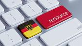 ドイツ リソースの概念 — ストック写真
