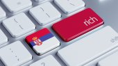 Serbia Rich Concep — Foto de Stock