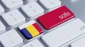 Romania Safe Concept — Stock Photo
