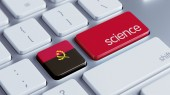 Angola Science Concept — Stock Photo