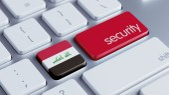 Iraq Security Concept — Foto Stock