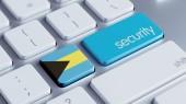 Bahamas Security Concept — Stock Photo