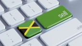 Jamaica Sell Concept — Stock Photo