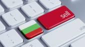 Bułgaria sprzedać koncepcji — Zdjęcie stockowe