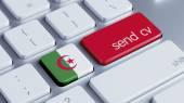 Algeria  Send CV Concept — Foto Stock