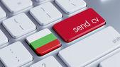 Bulgaria  Send CV Concept — Stockfoto