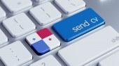 Panama  Send CV Concept — Foto Stock