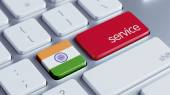 India Service Concept — Stock Photo