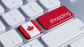 Canada Shopping Concept — Foto Stock