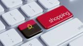 Angola Shopping Concept — Foto Stock