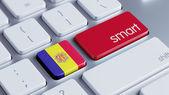 Andorra Smart Concept — Fotografia Stock