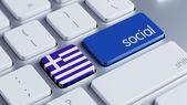 Greece Social Concept — Stock Photo
