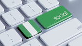 Nigeria Social Concept — Stock Photo