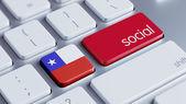 Chile Social Concept — ストック写真