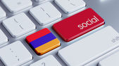 Armenia Social Concept — Foto Stock