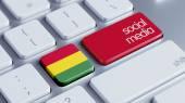 Bolivia Social Media Concept — Stock Photo