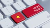Vietnam Social Media Concept — Stock Photo