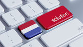 Netherlands Solution Concept — Stock Photo