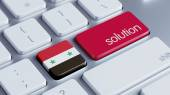 Syria Solution Concept — Stock Photo