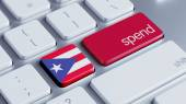 Puerto Rico Spend Concept — Foto de Stock