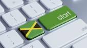 Jamaica Start Concept — Stock Photo