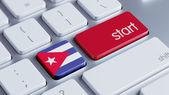Cuba Start Concept — Fotografia Stock