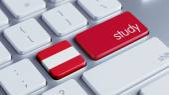 Austria Study Concept — Stock fotografie