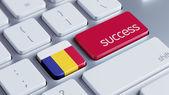 Romania Success Concept — Stock Photo
