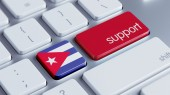 Cuba Support Concept — Stockfoto