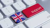 United Kingdom Support Concept — Stock Photo