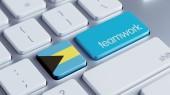 Bahamas Teamwork Concept — Foto de Stock