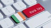 Ireland Think Big Concept — Stockfoto