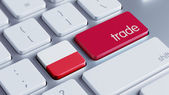 Poland Trade Concept — Stockfoto