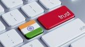 India Trust Concept — Stock Photo