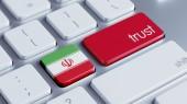 Iran Trust Concept — Stock Photo