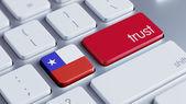 Chile Trust Concept — Stock Photo