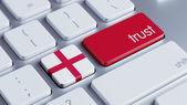 England Trust Concept — Stock Photo