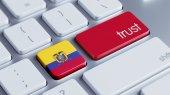 Ecuador Trust Concept — Stock Photo