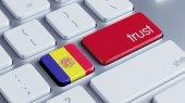 Andorra Trust Concept — Stock Photo