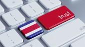 Costa Ric  Trust Concept — Stock Photo