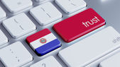 Paraguay Trust Concept — Stockfoto
