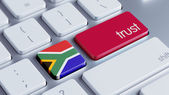 South Africa Trust Concept — Stock Photo