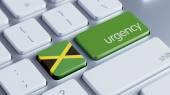 Pojęcie pilności Jamajka — Zdjęcie stockowe