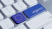 European Union  Urgency Concept — Stock Photo