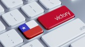 Chile Victory Concept — Stock Photo
