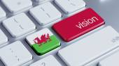 Wales Vision Concep — Stock Photo