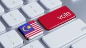 Malaysia Vote Concept — 图库照片