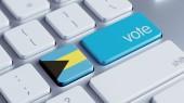 Bahama Vote Concept — Stock Photo