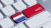 Netherlands Web Concept — Zdjęcie stockowe